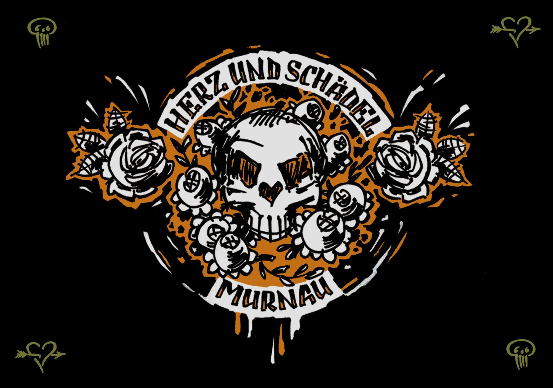 Herz und Schädel - Murnau